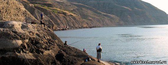 рыбная ловля в Судаке